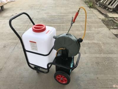 移動式蓄電池養殖場消毒車