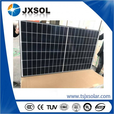 9BB 120cell half cell solar panels with 158.75mm cell