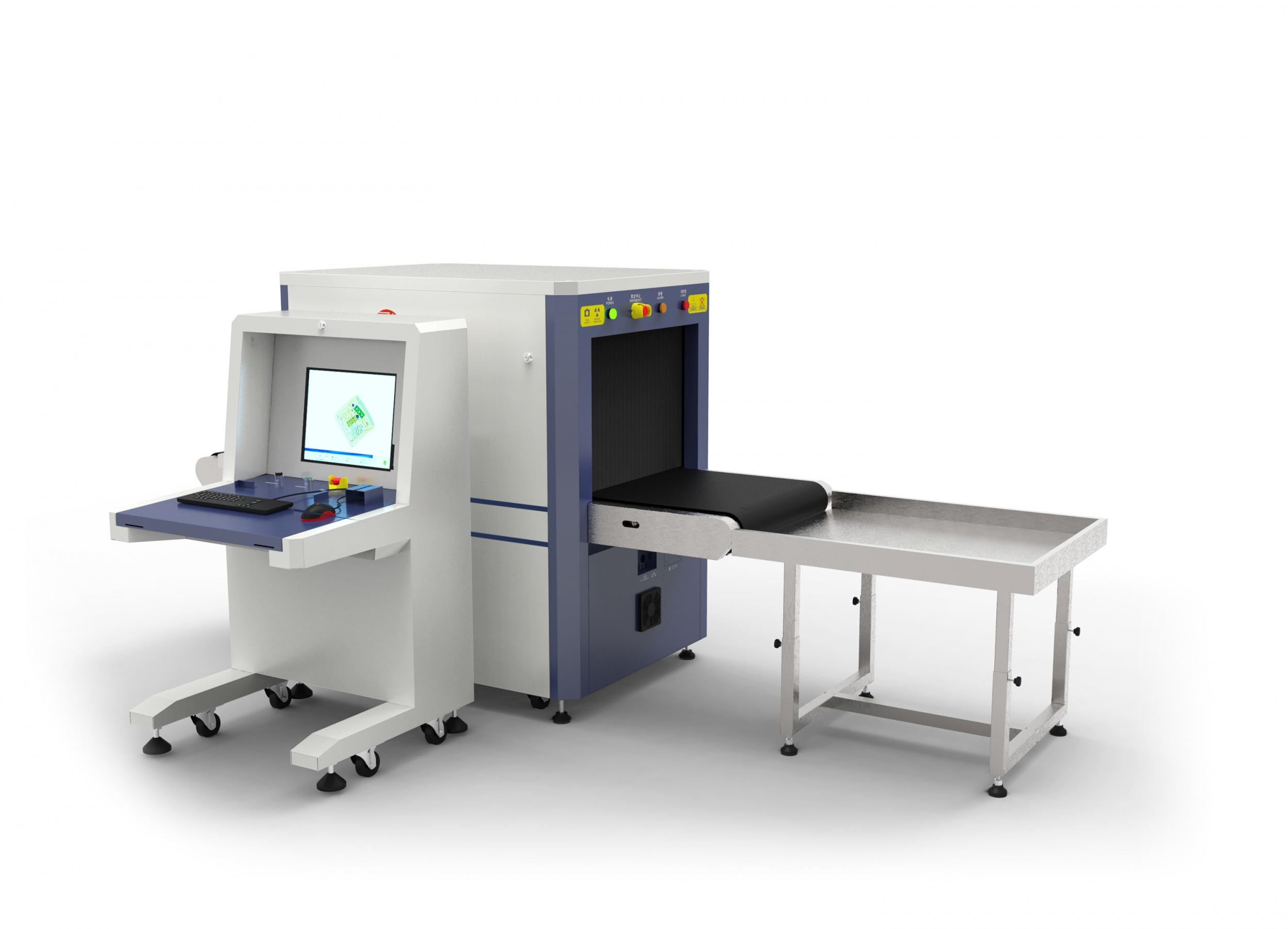 安檢X光機是怎么分辨炸藥毒品槍支刀具等危險物品的?