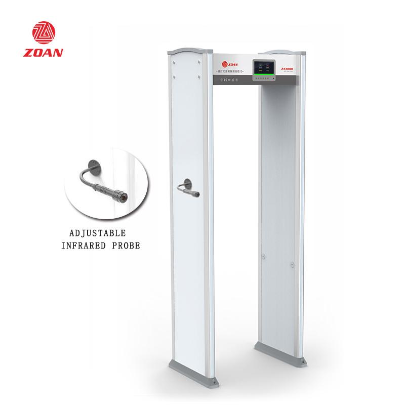 學校測溫安檢門可以安裝在室外嗎