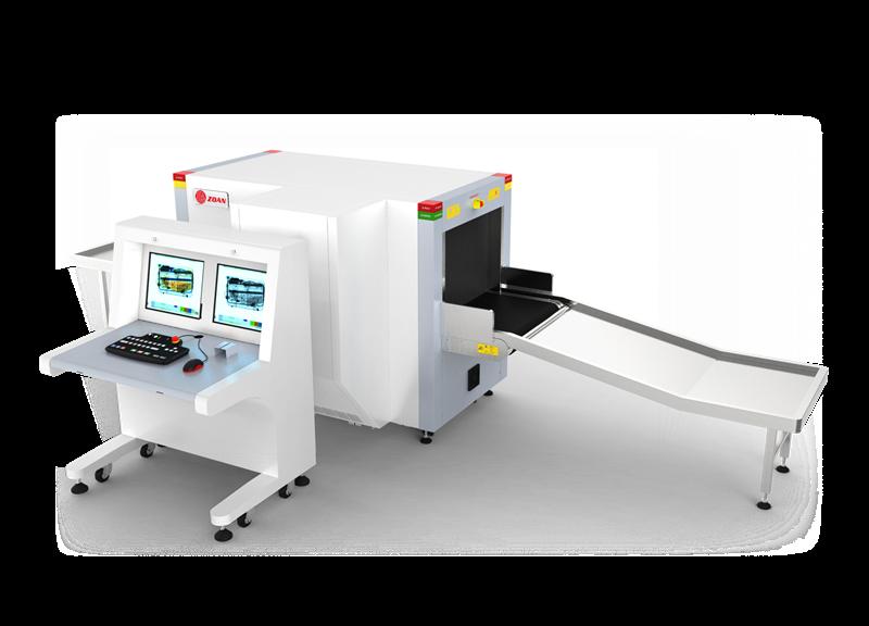 ZA6550D(雙源雙視角)通道式X光安檢機