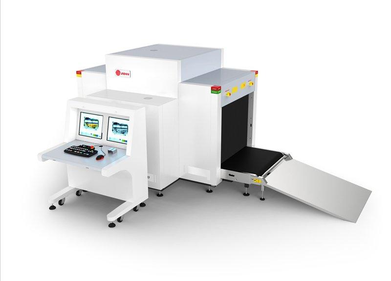 ZA10080D(雙源雙視角)通道式X光安檢機