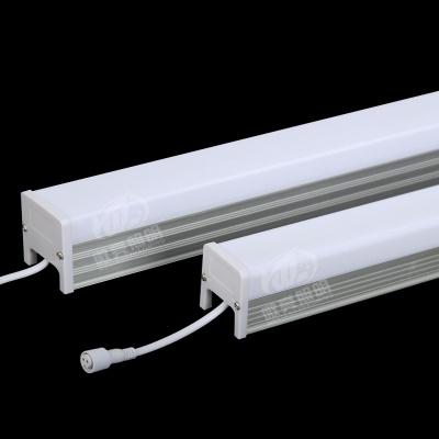 新款4045条型铝材护栏管 单色彩色外控轮廓灯 户外防水led数码管