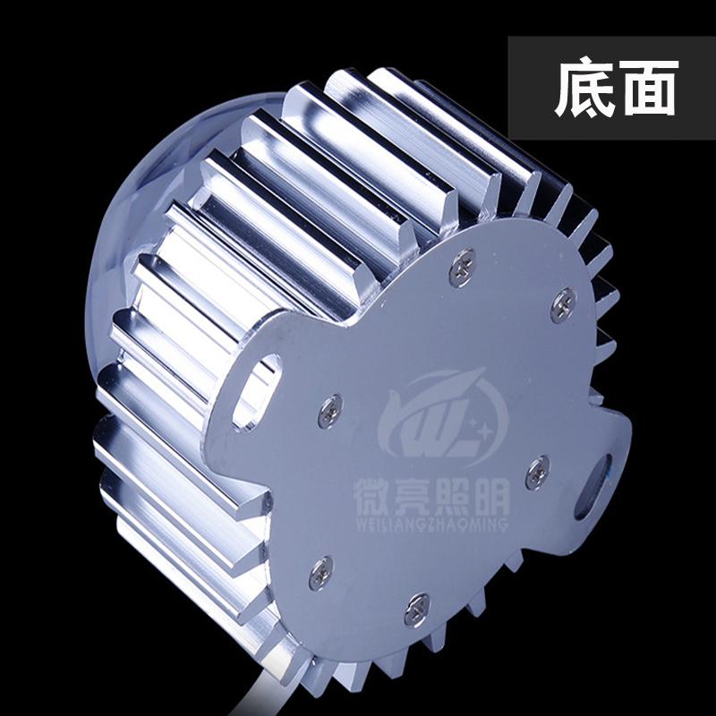 LED车铝齿轮点光源02S