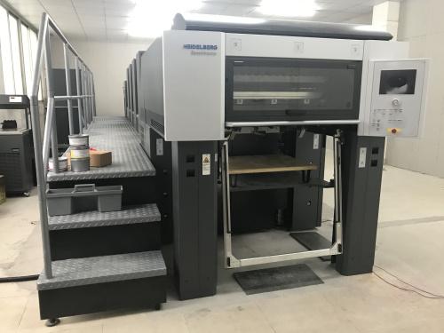 我司--【宇华扑克牌厂家】引进全新欧洲海德印刷机