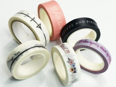 印刷和纸胶带