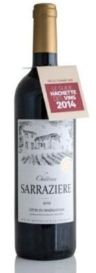 利蒙德珍藏红葡萄酒 CHATEAU SARRAZIERE 波尔多南部的新星
