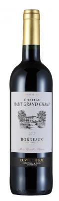 波尔多兰德堡红葡萄酒    Chateau Haut Grand Champ 2015