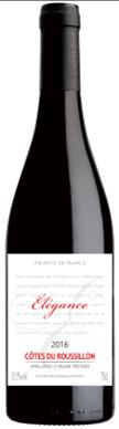 鲁西荣优雅红葡萄酒