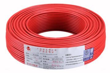 金龙羽 电线电缆ZR/ZC BVR4平方