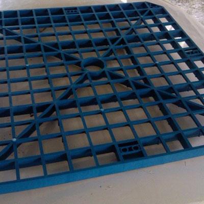 网格方孔填料_塑料网格填料