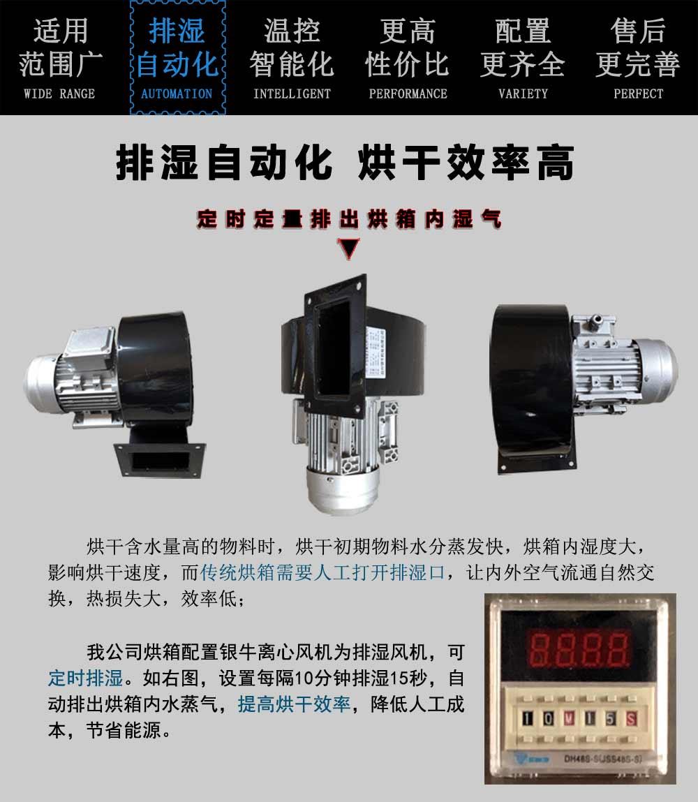 2019年秋霞鲁丝片瓜皮熱風循環烘箱排濕自動化
