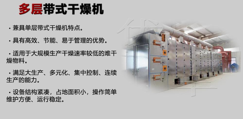 网带式干燥机产品特点