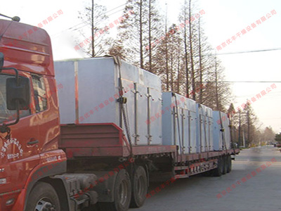 杭州熱風循環烘箱发货