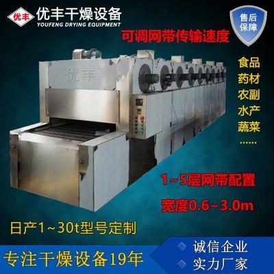 单层带式干燥机/多层网带干燥机