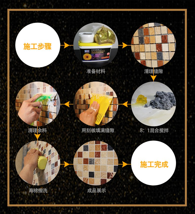 纳米陶瓷泥施工步骤