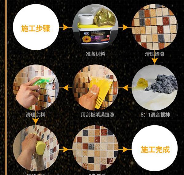瓷砖水性美缝剂厂家