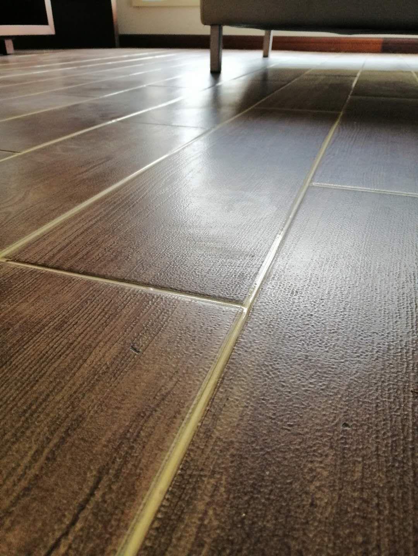 木紋磚美縫劑效果圖-南京中海御山府