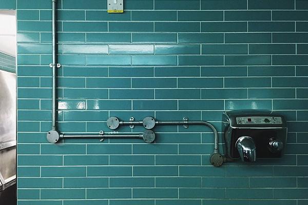 浴室淋浴美缝效果