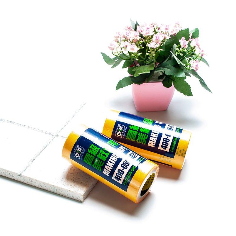 美纹纸-美缝剂施工の美纹纸胶带,一撕即可完工-CHB