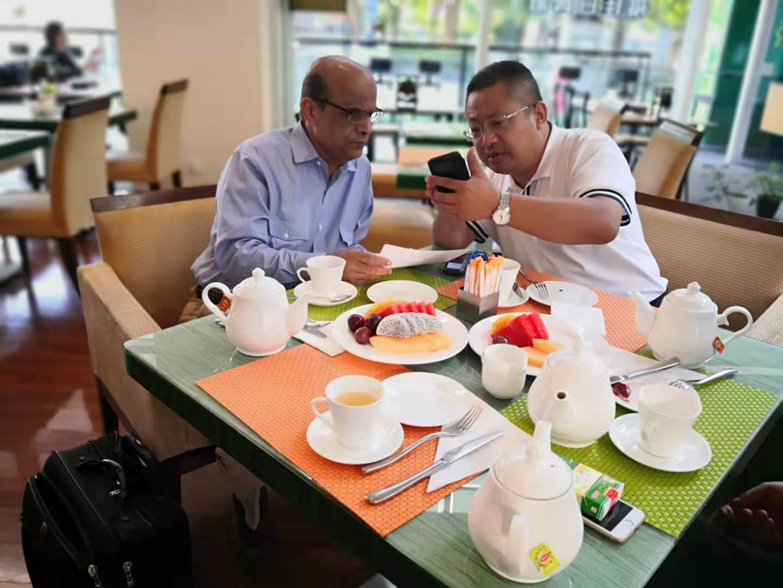 美国CCS公司亚太区经理Kamal Khan先生访华