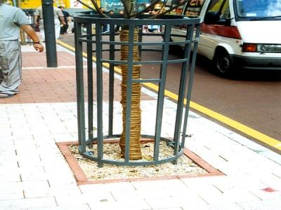 行人專區樹圈  Tree Guard for Pedestrian Area