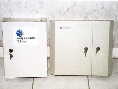 香港電訊公司及和記環球電訊分配電箱 Steel Distribution Case