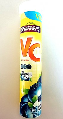汉诚轶方VC泡腾片蓝莓味