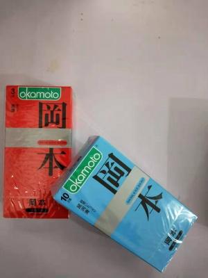 冈本超润滑(蓝盒)10只有赠品