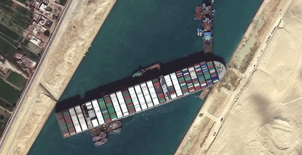 剛剛,宣布共同海損丨蘇伊士運河擱淺船EVER GIVEN宣布為共同海損!