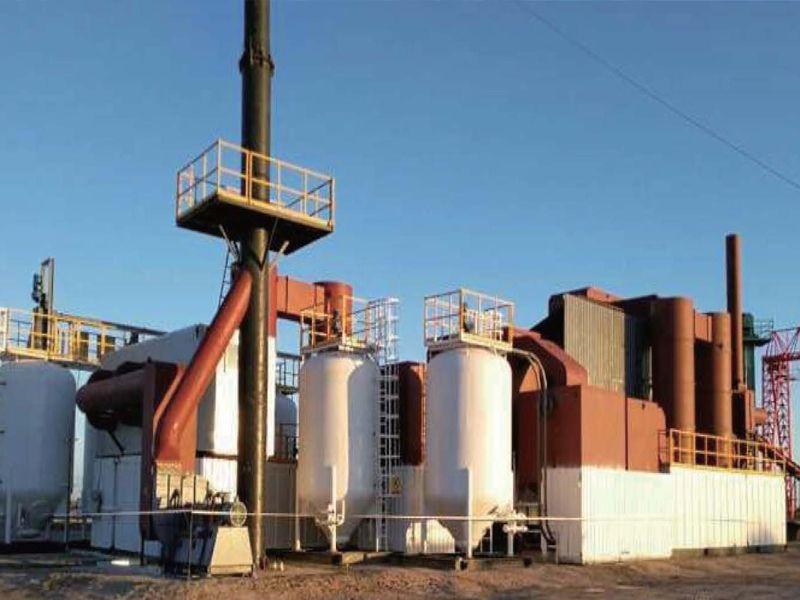 新疆克拉瑪依油田廢氣處理項目