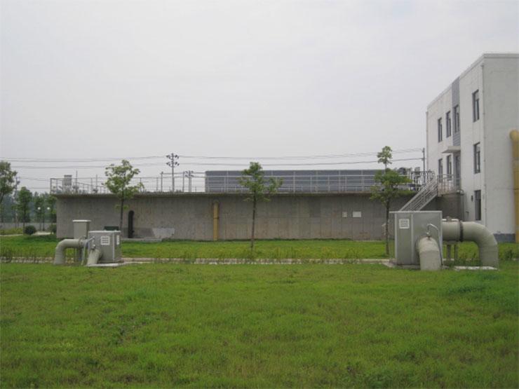金坛第二污水处理厂扩建工程项目