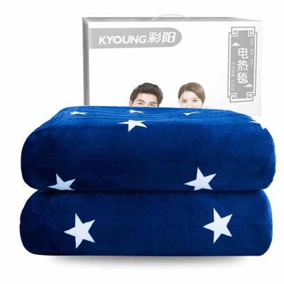 彩陽電熱毯雙人雙控調溫1.8安全輻射無防水三單家用加大厚電褥子