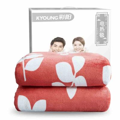 彩陽電熱毯單人電褥子雙人雙控調溫家用安全輻射無學生宿舍小除螨