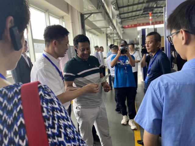 國際經貿代表團浙江行參訪團一行到...