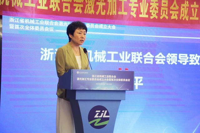 浙江省機械工業聯合會激光加工專業委員會成立大會