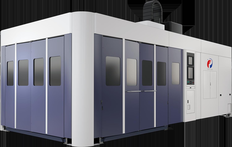 龍門式三維五軸激光切割系統