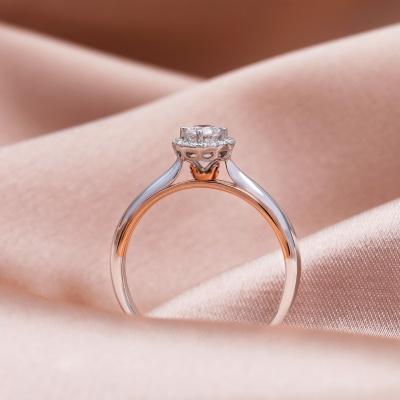【幸福之冠】指尖芭蕾-周百福幸福之冠求婚钻戒