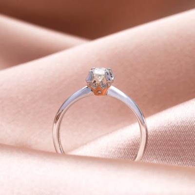 【幸福之冠】爱的承诺-周百福幸福之冠求婚钻戒