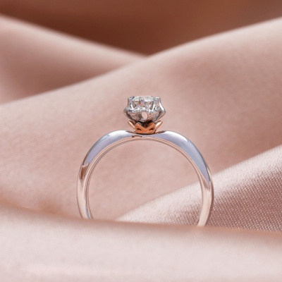 【幸福之冠】你的名字-周百福幸福之冠求婚钻戒
