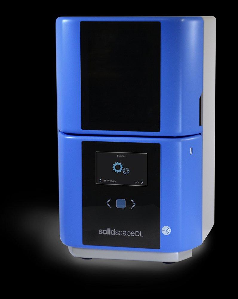 Prodways 子公司Solidscape专门针对珠宝制造,推出首款DLP树脂3D打印机