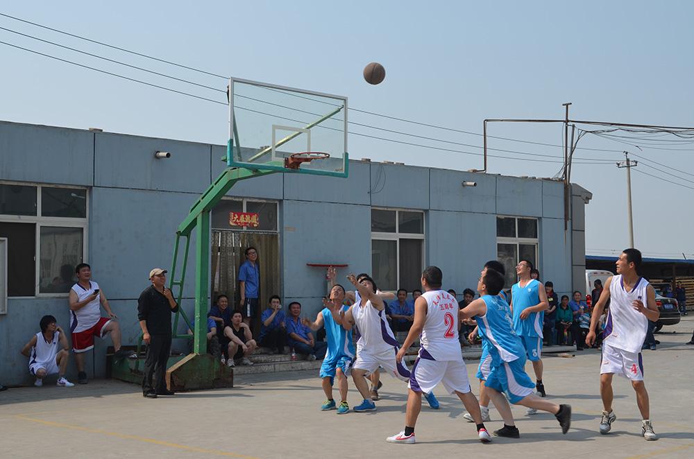 五周年篮球赛