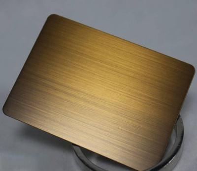 仿铜拉丝板