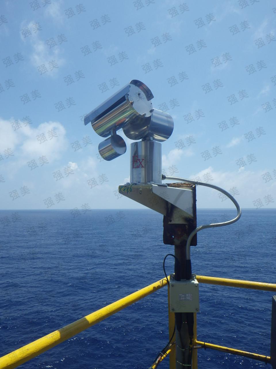 中海油海工平臺防爆視頻監控系統