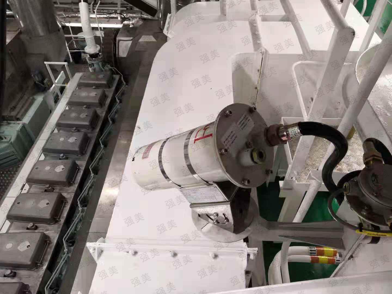 山東威海成品油船視頻監控系統