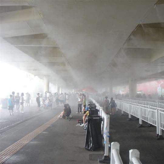 喷雾降温工程的应用原理及特点