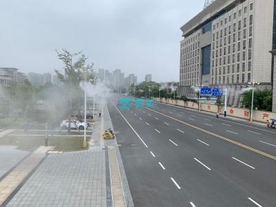 路灯杆喷雾设备/路灯杆喷雾除尘系统