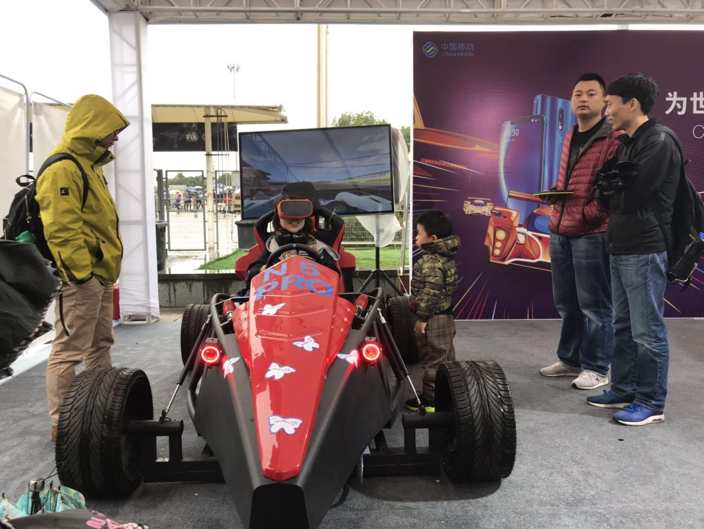 VR模拟F1赛车设备