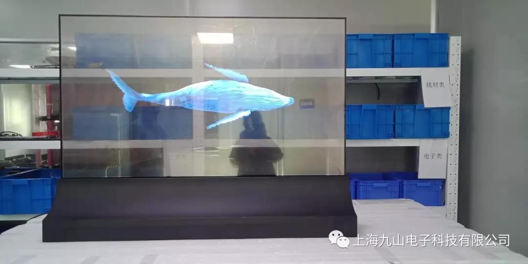 55寸透明OLED Signage 超越你的想象!