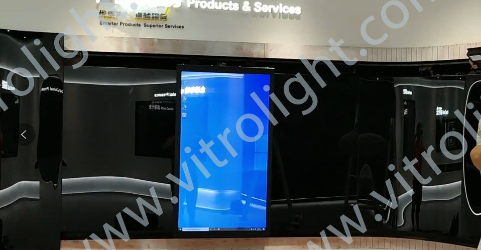 Transparent OLED curved track mobile screen-Shanghai Oasis Technology